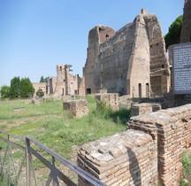 Rome Rione Campitello Palatin  Thermes de Septime Sévère