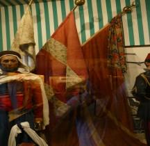 1830-1850 Drapeaux Turcs Conquete Algerie Constantine et Isly