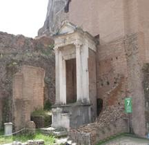 Rome Rione Campitelli Forum Romain Fontaine Juturne  Lacus Iuturnae