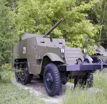 Half track T48 57 mm Gun Motor Carriage Moscou