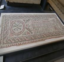 Mosaïque Rome Tunisie   Souk El Abiod Tombe Chrétienne Paris Louvre