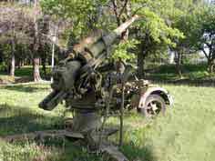 Canon Anti Aérien 8.8cm Flak 36 Draguignan