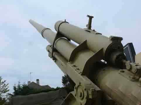 Canon Anti Aérien 8.8 cm Flak 37 Ouistreham