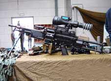 Mitrailleuse FN Minimi 5.56mm