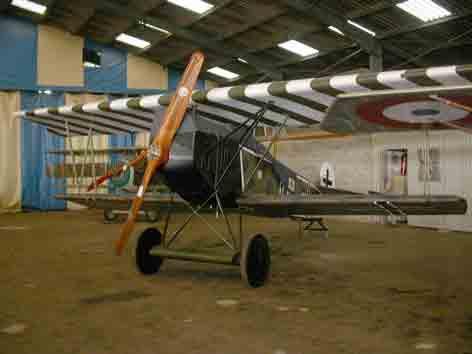 Fokker D VII La Ferté Alais (Réplique)