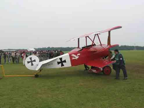 Fokker Dr.I Dreidecker Réplique  La Ferté Alais