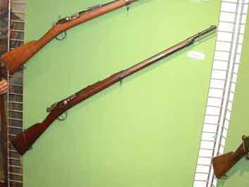 Fusil M1885 (Prototype)