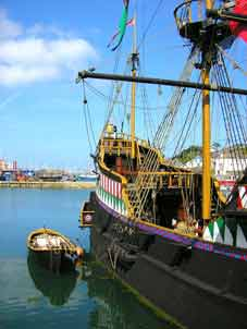Golden Hind (HMS) Brixham