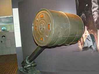 Charge profondeur Grenade Mark VII Bruxelles