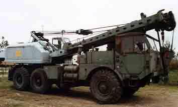 Faun LK 1212/485 Kranwagen 15 t, 6x6