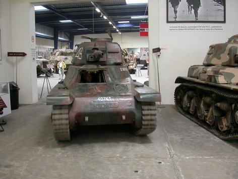 Hotchkiss H 39 Saumur Avant restauration