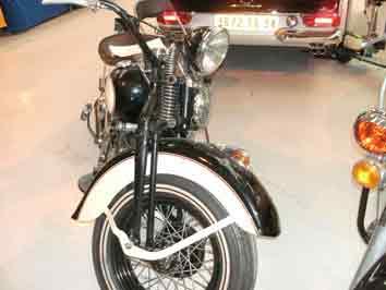 Harley Davidson 36R, 750cc  1936 Palavas