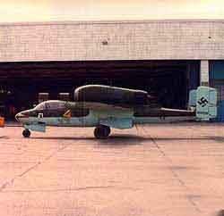 Heinkel He 162 A-2s Salamander Ottawa