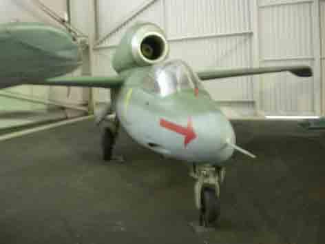 Heinkel He 162 A 2 Salamander Le Bourget