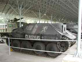 Jagdpanzer 38t SdKfz 138/2 Hetzer Lesany