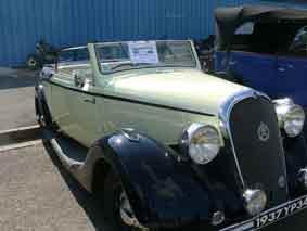 Hotchkiss Biarritz Cabriolet 1937
