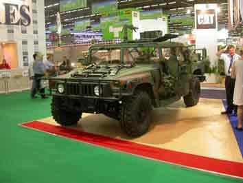 Humvee M 1038 Eurosatory 2008