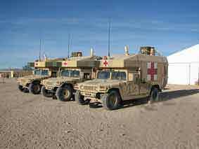 Humvee M997 Maxi-Ambulance Armoured
