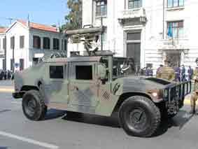 Humvee Milan Grèce