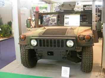 Humvee M998 M1098  kit ASK Eurosatory 2008