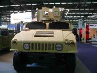 Humvee NG Objective Gunner Protection Eurosatory 2