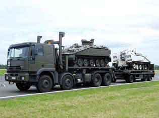 Iveco Euro Trakker Cursor ( Armée Belge)