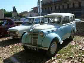 Renault  Juvaquatre  R2100 Break  1954 Pignan
