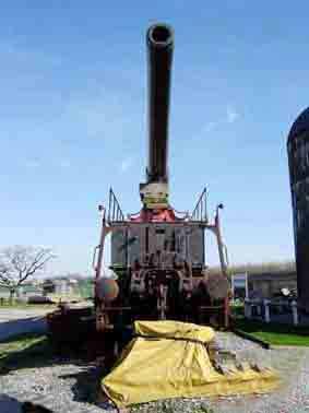 Canon sur Rail K5 28Cm in Eisenbanhlafette.