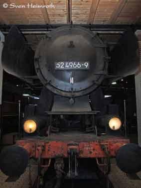 Kriegslokomotiven DR-Baureihe  52