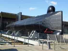 Sous marin S 645 La Flore Lorient