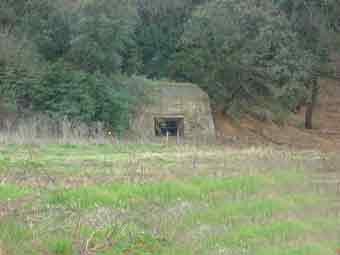 Südwall Hérault Lattes la station Maultier Bunker 1
