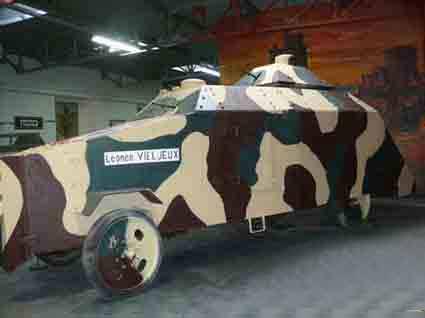 Auto Mitrailleuse Leonce Vieljeux restaurée