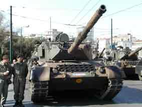 Léopard  1A1A2 Grèce