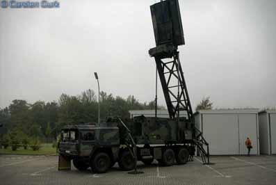 Radar LÜR  (LuftraumüberwachungsRadar) MAN 10t mil