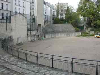 Paris Amphitéatre de Lutèce