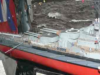 Schlachtkreuzer SMS Lützow Maquette Londres