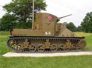 Char Léger M 2 a 1 Aberdeen