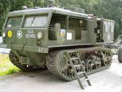 Higt Speed Tractor M 4 a1 (late) class b