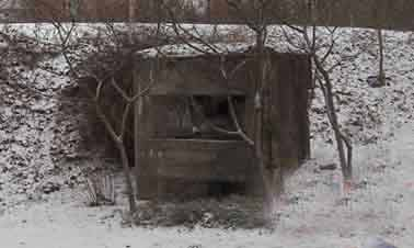 16 SF Bas Rhin SS Strasbourg Bunker Cpl chef Reibel Bloc 1 Strabourg Bas Rhin
