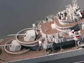 contre torpilleur Malin ( Maquette) Paris