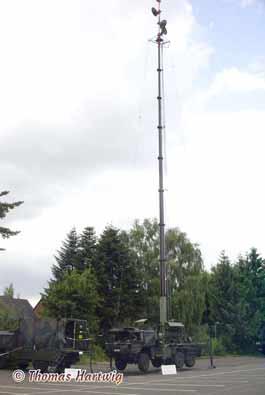 MAN 7T GL 6x6 Patriot Antennenmastanlage (AMA)