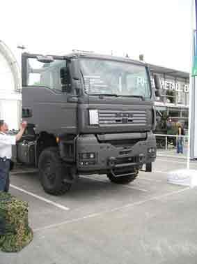 MAN TGA 33 438 6x6 Eurosatory 2006