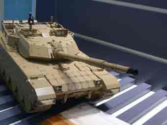 MBT 3000 Maquette Eurosatory 2012