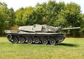 Allemagne-USA MBT 70 Aberdeen