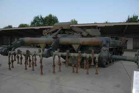 Mineraumpanzer Keiler MiRpz Treves