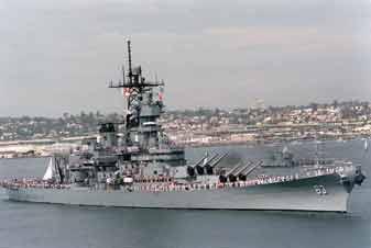 Cuirassé Missouri (BB 63) Pearl Harbour