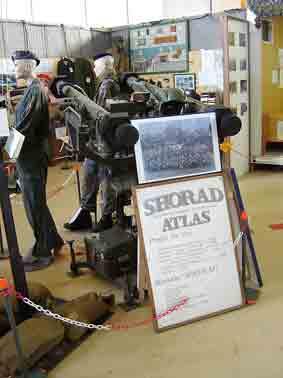 Missile Sol Air Mistral  SATCP Atlas