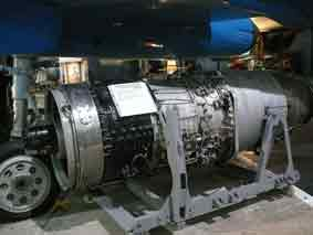 Réacteur Rolls Royce Avon RA14R Yeovilton