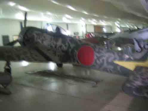 Nakajima Ki-43 Hayabusa Oscar Tillamok