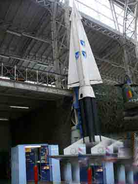 Missile Sol Air MIM 14 Nike  Hercules Bruxelles